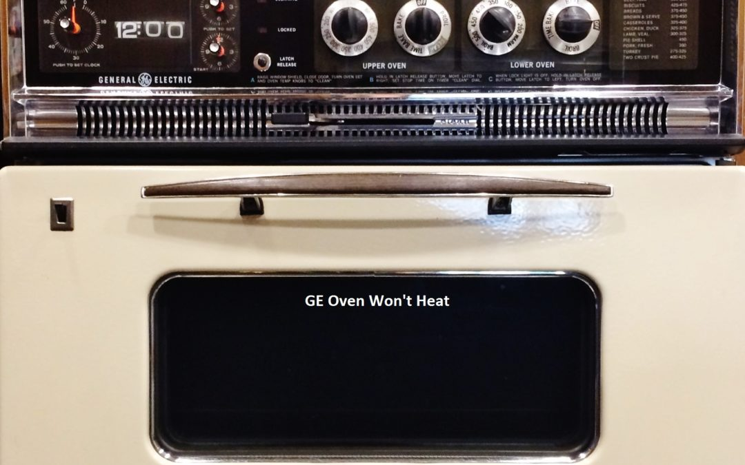 My GE Double Oven Quit Heating The Day Before Thanksgiving