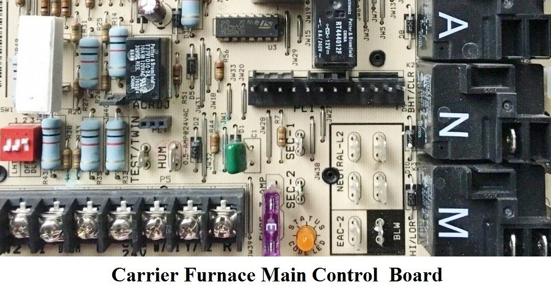 Carrier Furnace Main Control Board Replacement